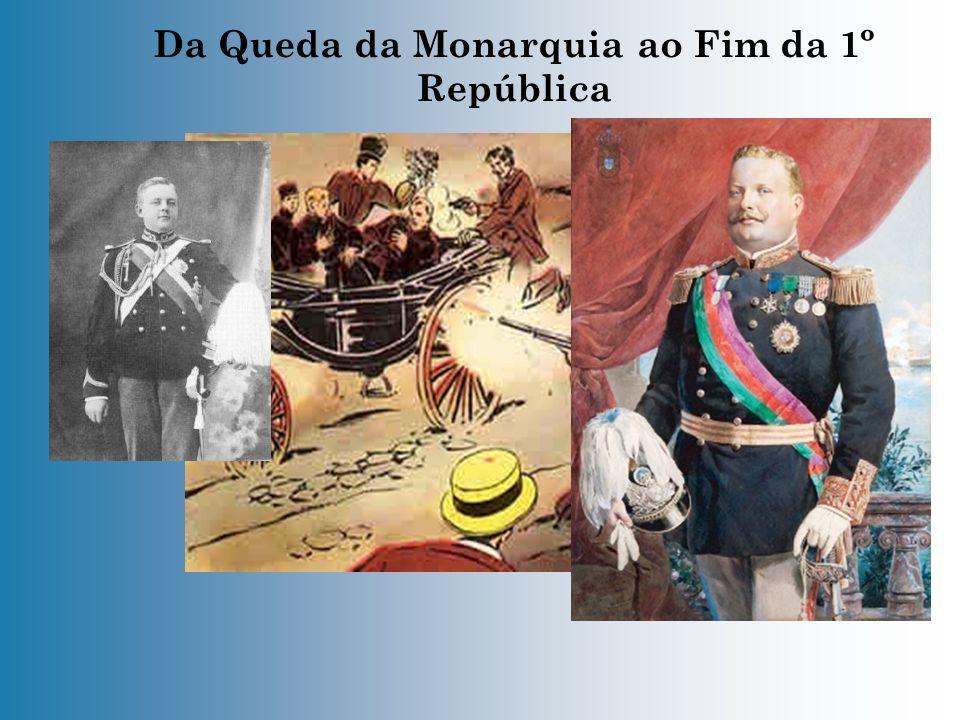 Da Queda da Monarquia ao Fim da 1º República - A 31 de Janeiro de 1891, houve no Porto a primeira revolta armada contra a monarquia.