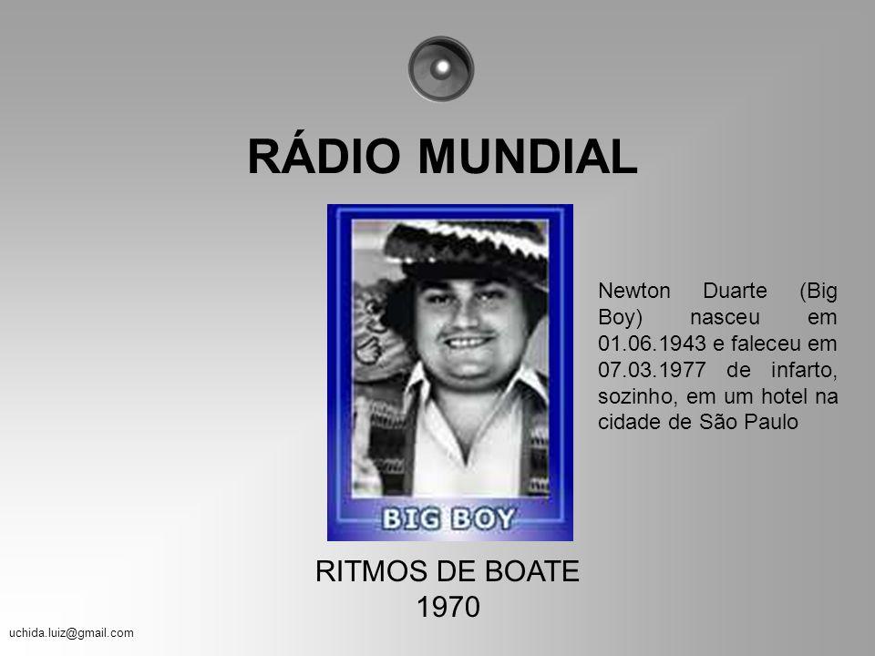 uchida.luiz@gmail.com Enquanto o pessoal da Velha Guarda curtia as Rádios que você relembrou aqui até agora, nós, os adolescentes dos anos 70, vivíamo
