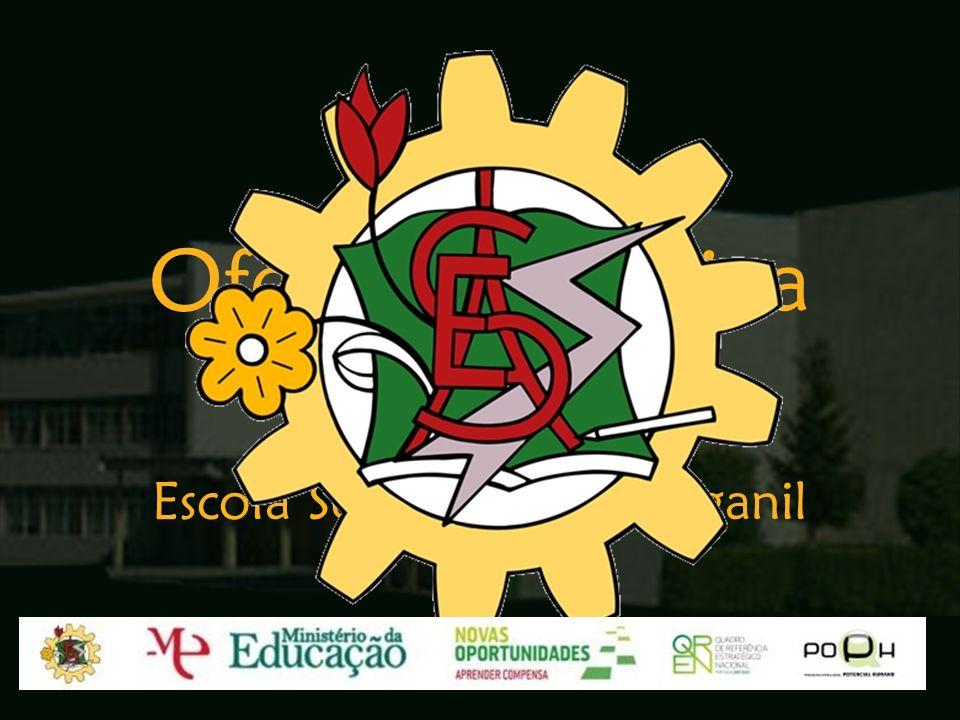 Oferta Formativa Ano Lectivo 2009/10 Escola Secundária de Arganil