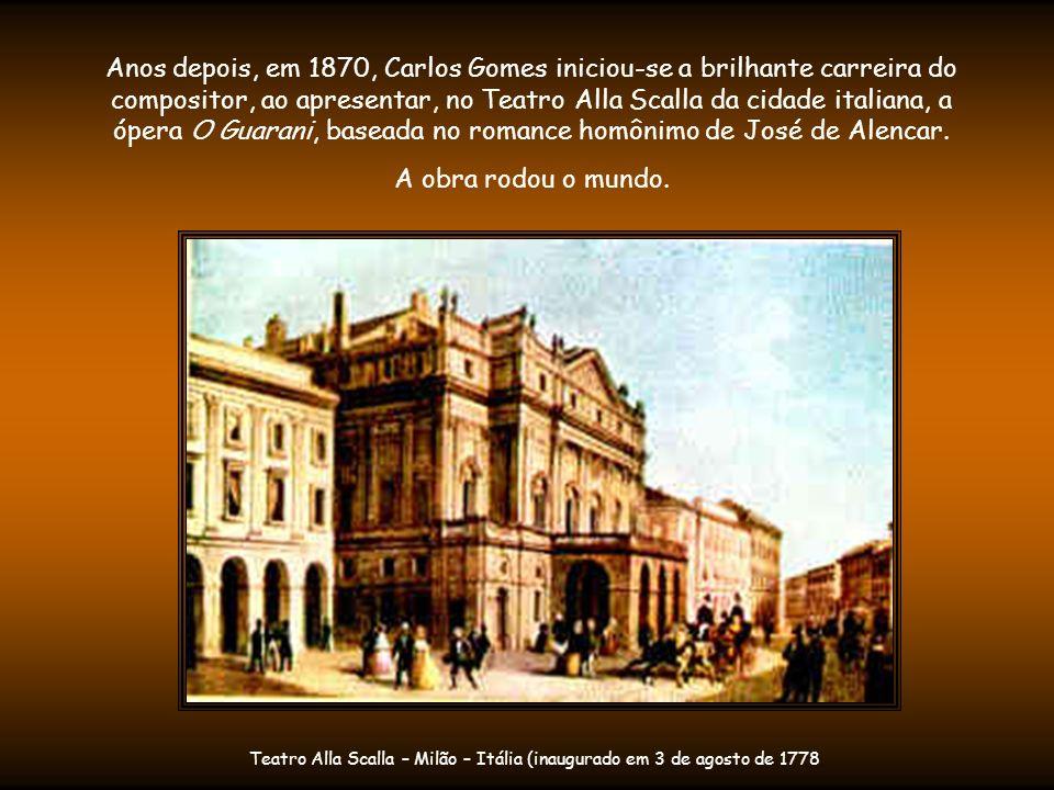 No Rio, foi apresentado a D.Pedro II, que se tornaria seu admirador e mecenas.