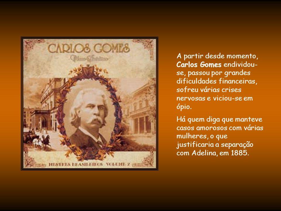 Com a morte de Mário, um dos filhos do casal, o compositor entrou em profunda depressão e mudou-se para Gênova.