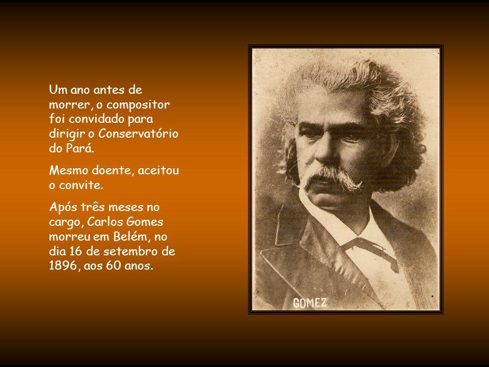 Em contrapartida, os italianos o enxergavam como um mercenário, pois acreditavam que ele produzia arte com fins comerciais -O Guarani, inclusive, foi vendido a um editor.