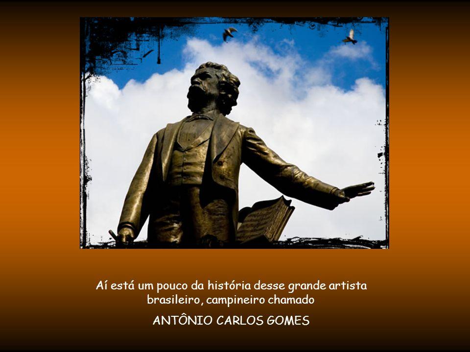 Sala do MUSEU DE CARLOS GOMES, no Centro de Ciências Letras e Artes - de Campinas/SP Rua Bernardino de Campos, 969 Fone: (19) 3231-2567