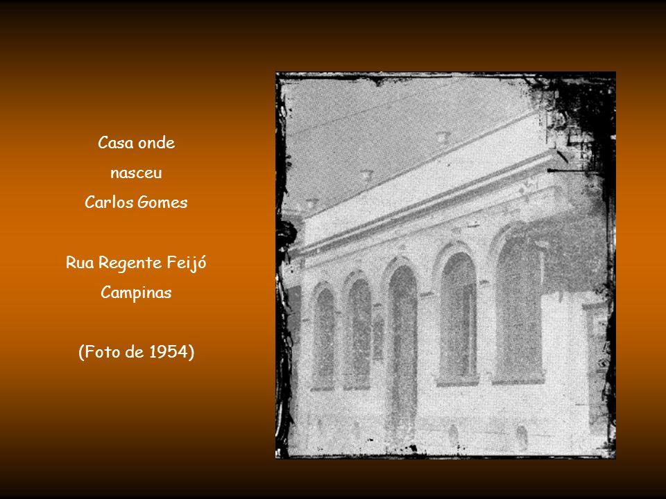 Nascido em 11 de julho de 1836, na pequena Vila Real de São Carlos, atual Campinas (SP), o pequeno Tonico, como era chamado pelos familiares, era filho de Manoel José Gomes, mestre de música e banda.
