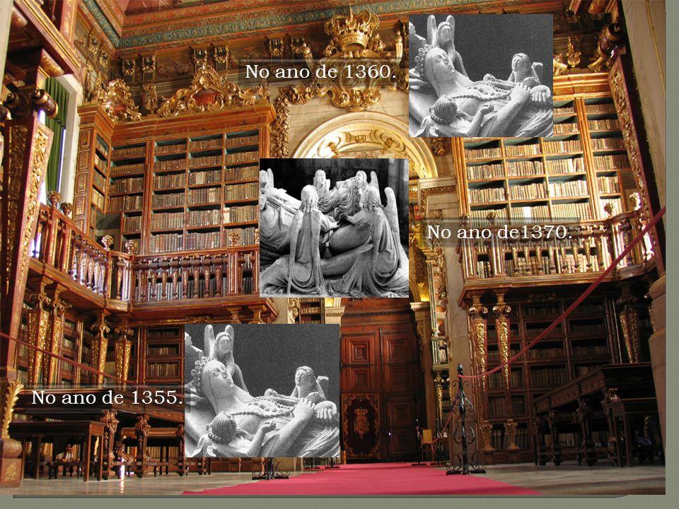 Espaço: Biblioteca da Universidade de Coimbra R: No ano de 1360 Soma o número de letras do primeiro nome próprio do local onde te encontras e chegarás