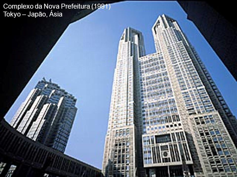 Complexo da Nova Prefeitura (1991) Tokyo – Japão, Ásia