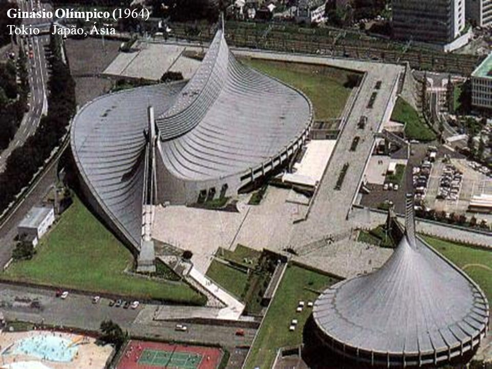 Ginásio Olímpico (1964) Tokio – Japão, Ásia