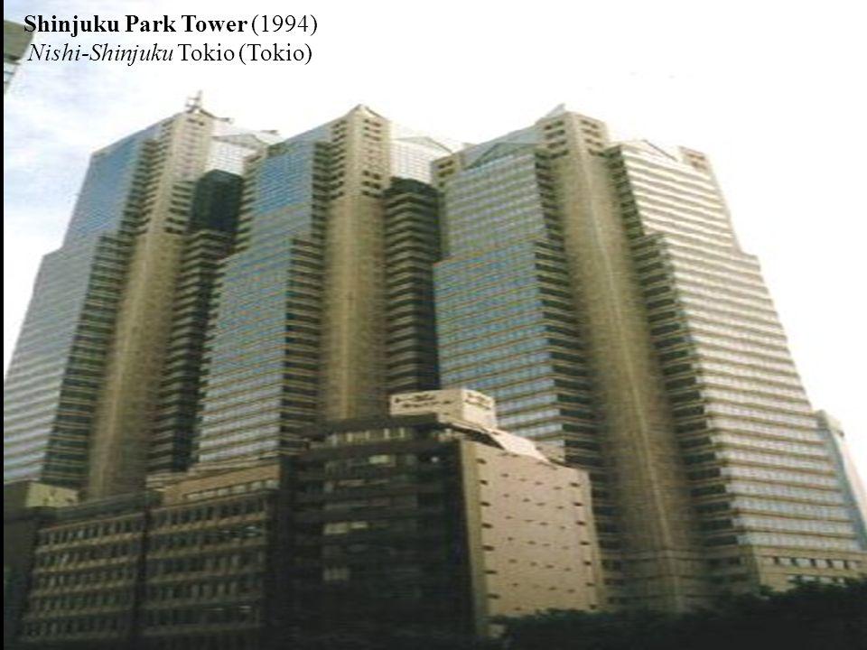 Shinjuku Park Tower (1994) Nishi-Shinjuku Tokio (Tokio)
