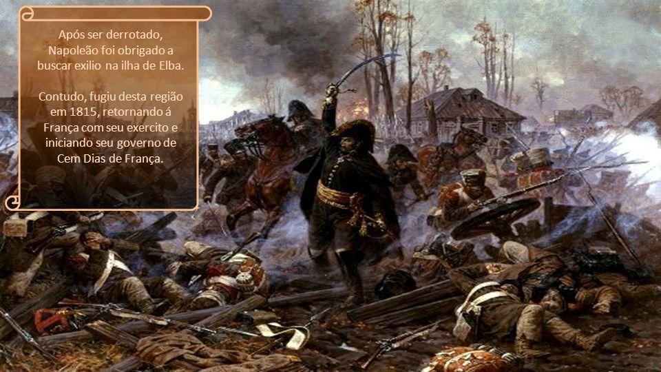 No ano de 1812, o general Francês atacou a Rússia, porém ao contrario de seus outros confrontos, este foi um completo fracasso. Após sair de Moscou o