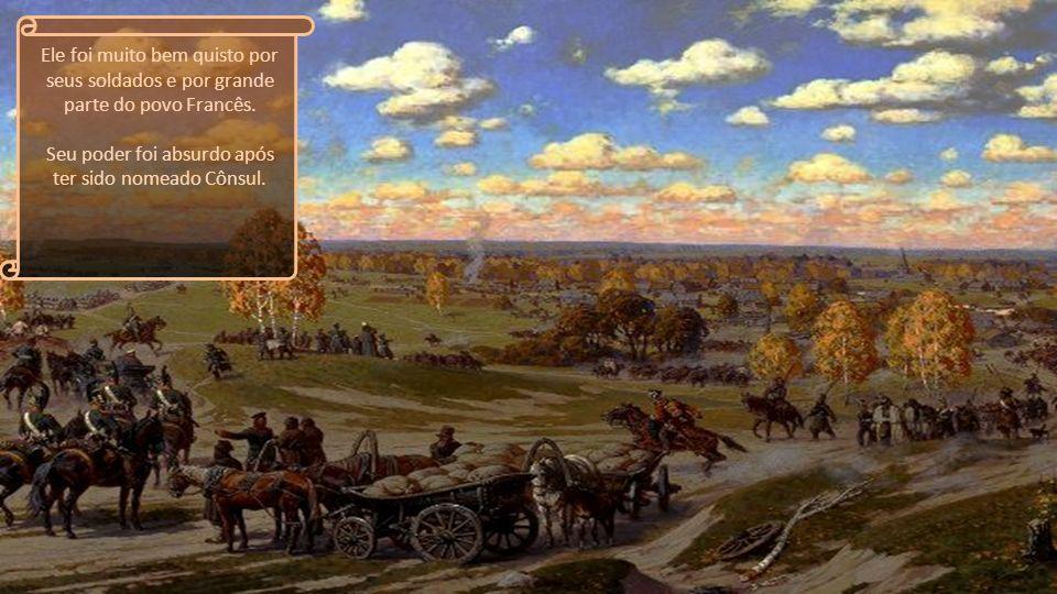 Sua estratégia era fazer com que seus soldados se considerassem invencíveis. No ano de 1798 ele seguiu em embarcação para o Egito, com o proposito de