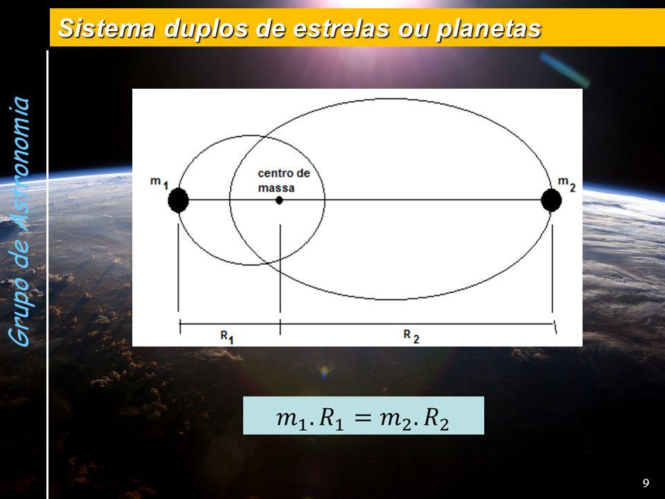 Grupo de Astronomia Sistema duplos de estrelas ou planetas 9