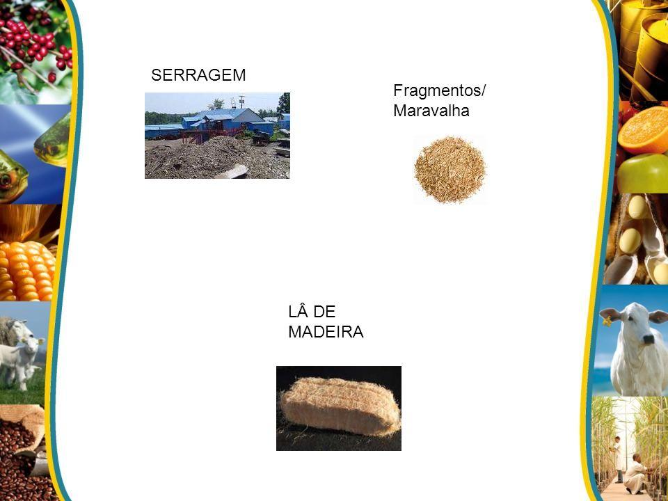 SERRAGEM Fragmentos/ Maravalha LÂ DE MADEIRA