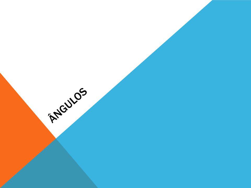 Notação Matemática Linguagem corrente Ângulo de vértice B em que um lado passa por A e o outro por C Amplitude do ABC Recta que passa pelo ponto G e pelo ponto F Segmento de recta de extremos X e Y Semi-recta de origem L e que passa em M Triângulos cujos vértices são os pontos H, I, e J … é geometricamente igual a … ABC