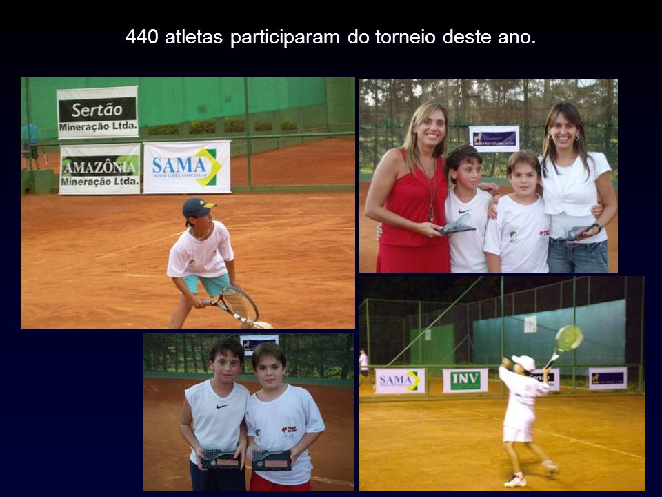 440 atletas participaram do torneio deste ano.
