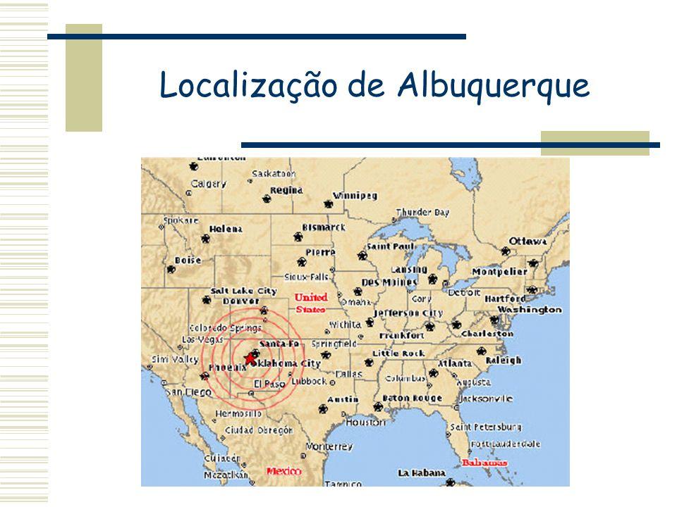 Localização de Albuquerque