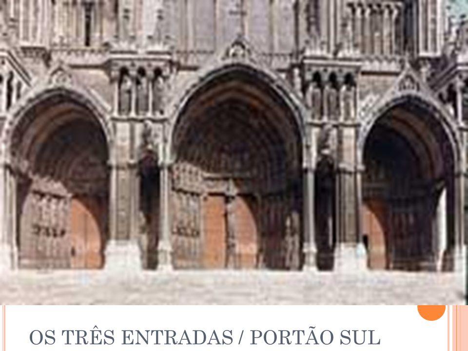 OS TRÊS ENTRADAS / PORTÃO SUL