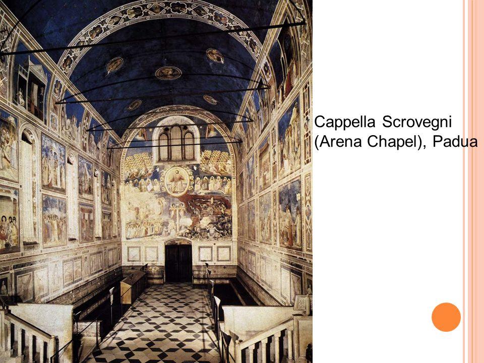 Last Judgment 1306 Fresco, 1000 x 840 cm Cappella Scrovegni (Arena Chapel), Padua