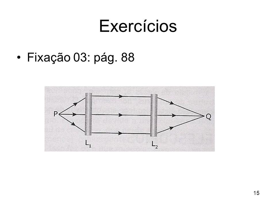 15 Exercícios Fixação 03: pág. 88