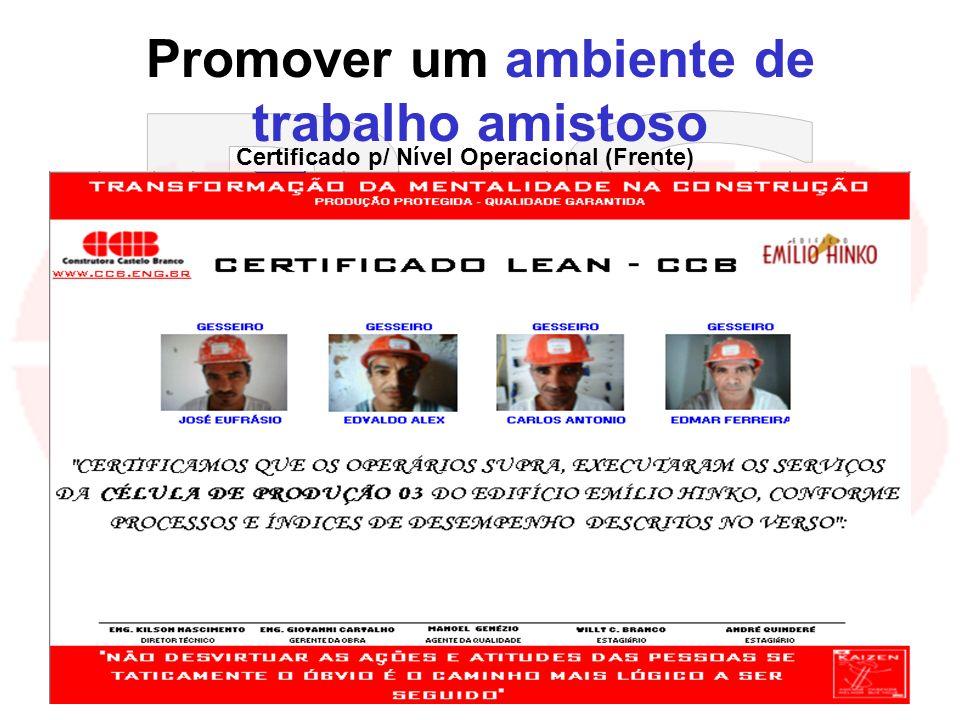 kilsonnascimento@hotmail.com macedoferraz@superig.com.br Promover um ambiente de trabalho amistoso Certificado p/ Nível Operacional (Frente)
