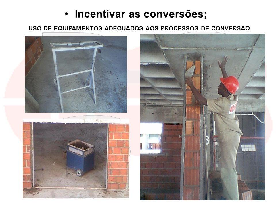 kilsonnascimento@hotmail.com macedoferraz@superig.com.br Incentivar as conversões; USO DE EQUIPAMENTOS ADEQUADOS AOS PROCESSOS DE CONVERSAO