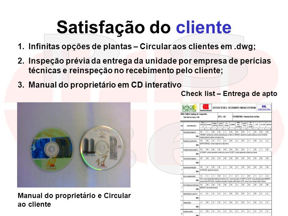 kilsonnascimento@hotmail.com macedoferraz@superig.com.br Satisfação do cliente Manual do proprietário e Circular ao cliente 1.Infinitas opções de plan