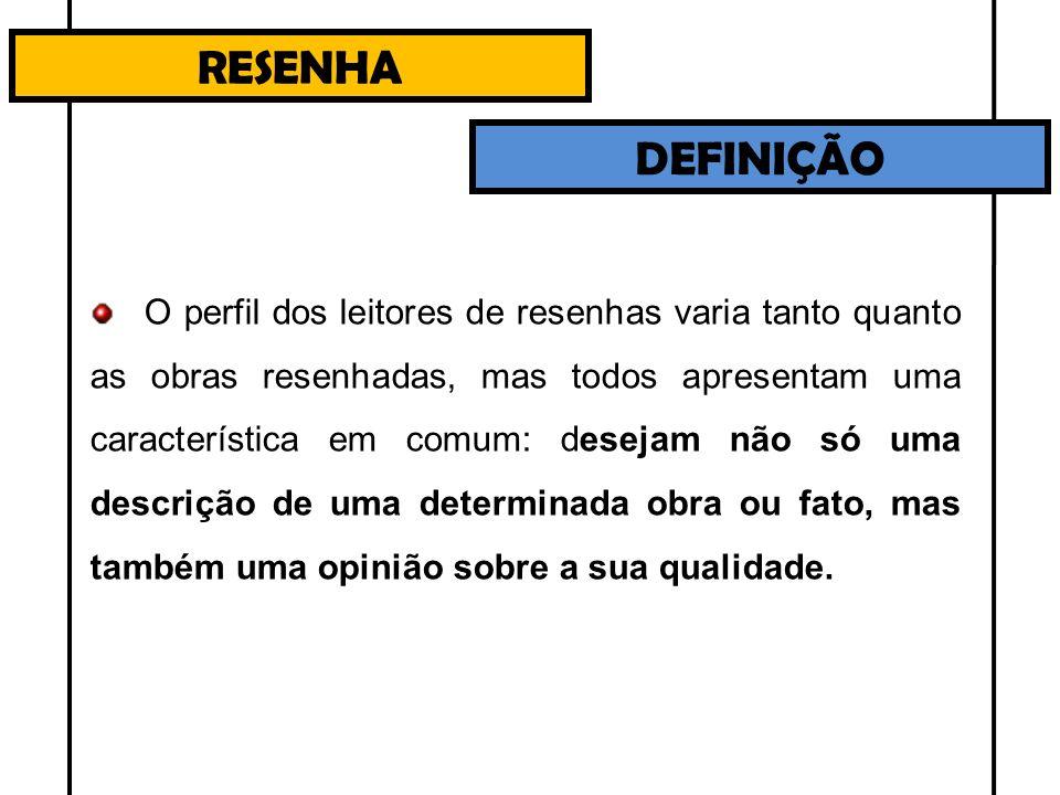 CARACTERÍSTICAS DO GÊNERO