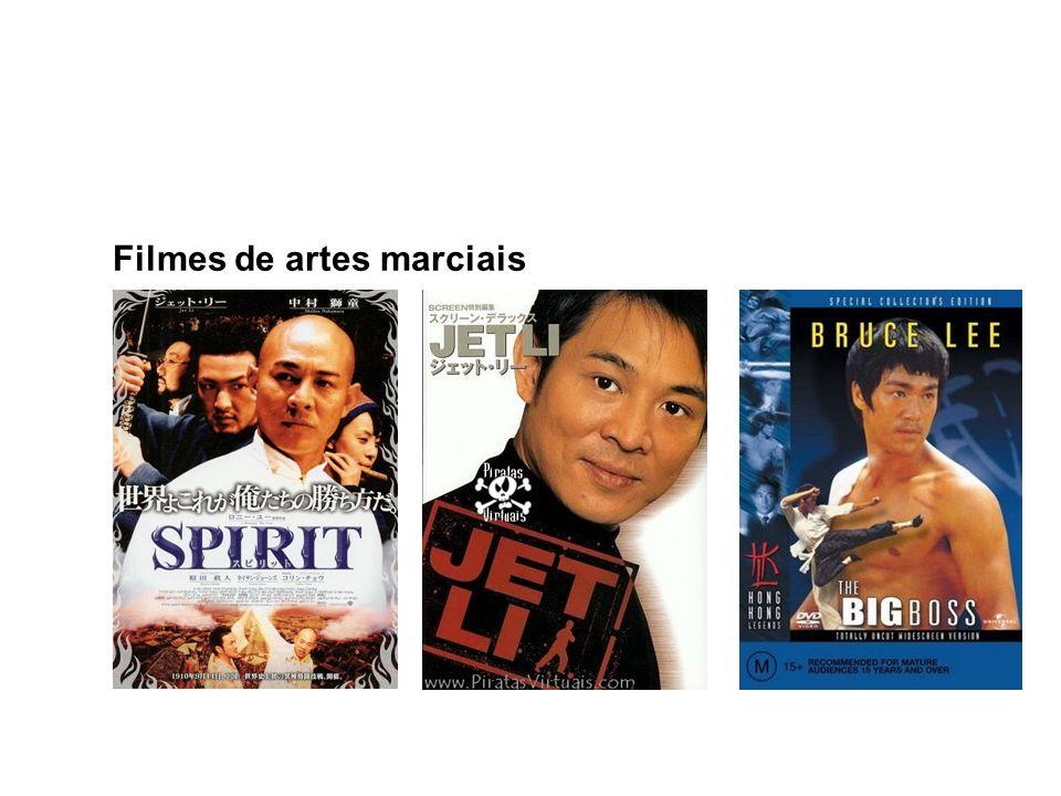 Filmes de artes marciais