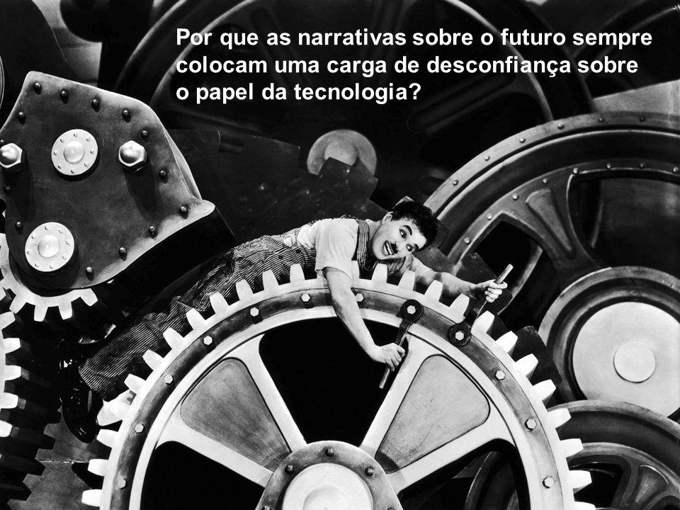 Por que as narrativas sobre o futuro sempre colocam uma carga de desconfiança sobre o papel da tecnologia?