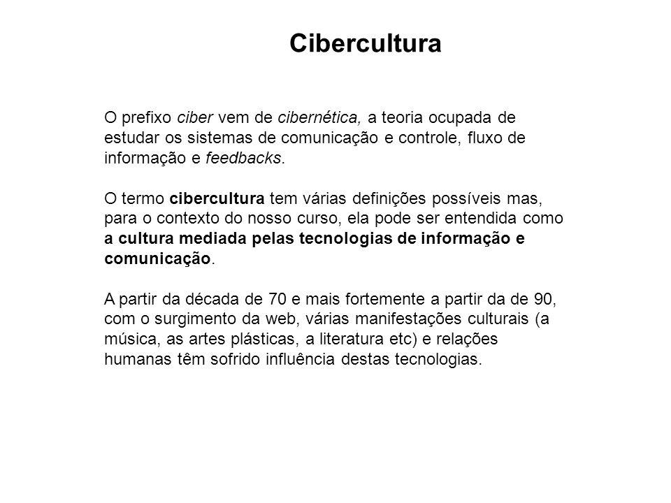 O prefixo ciber vem de cibernética, a teoria ocupada de estudar os sistemas de comunicação e controle, fluxo de informação e feedbacks. O termo ciberc