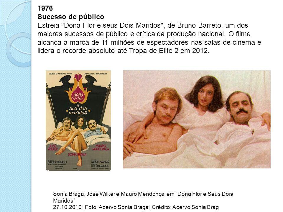 1976 Sucesso de público Estreia