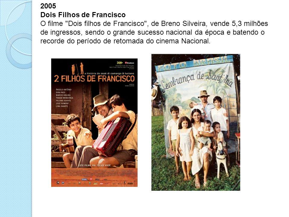 2005 Dois Filhos de Francisco O filme