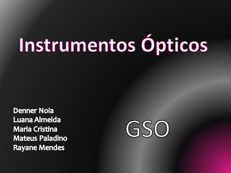 Muitos dos instrumentos ópticos são constituídos por associações de lentes.