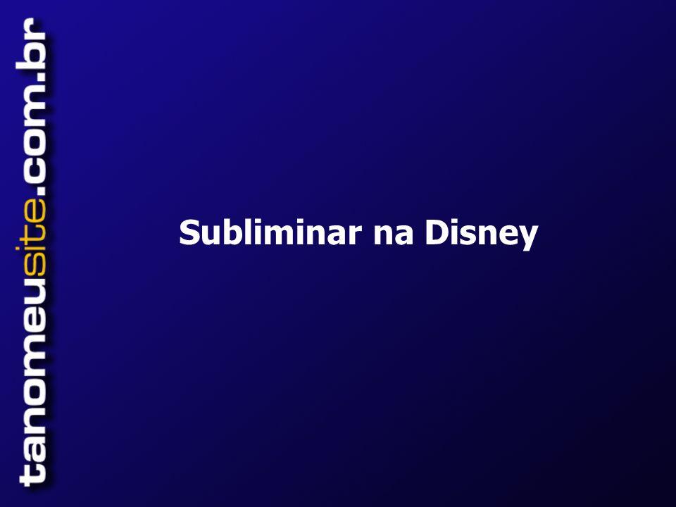 Subliminar na Disney