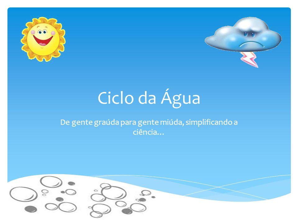 Sensibilizar as crianças para a importância da água.