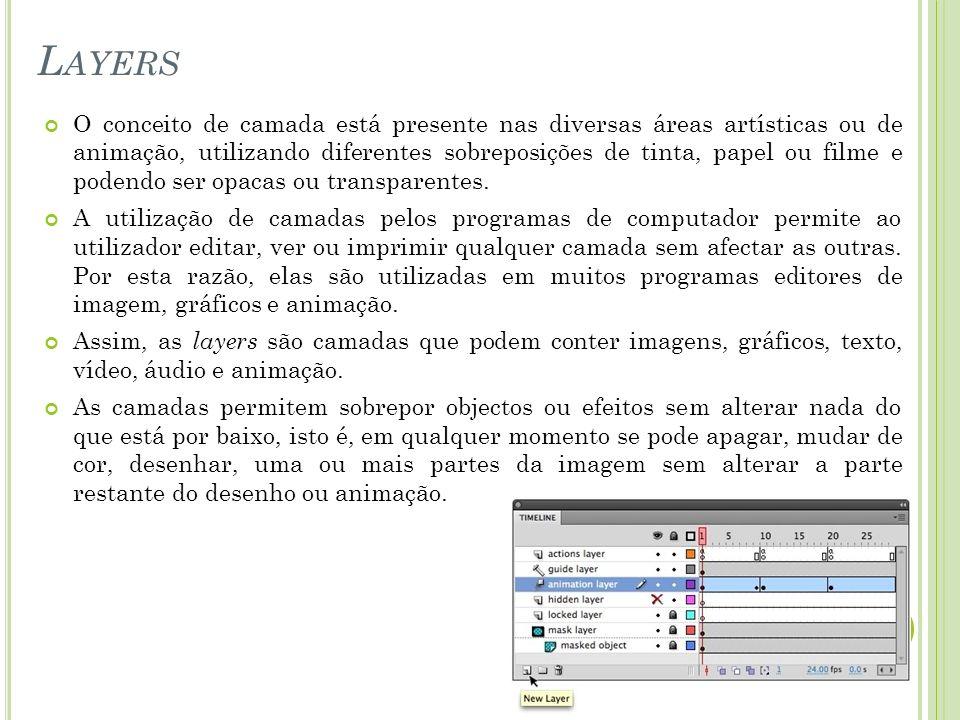 Os sprites são gráficos ou imagens que podem ser integrados numa animação e movimentados no ecrã.