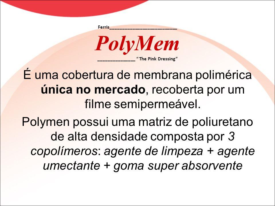 É uma cobertura de membrana polimérica única no mercado, recoberta por um filme semipermeável. Polymen possui uma matriz de poliuretano de alta densid