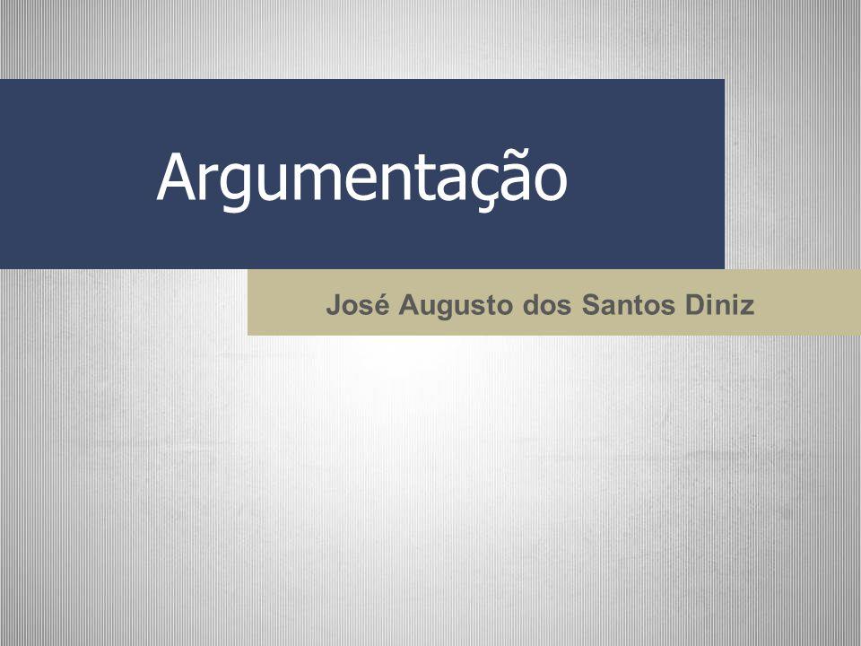 Argumentação José Augusto dos Santos Diniz