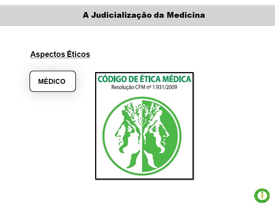 Aspectos Éticos MÉDICO A Judicialização da Medicina