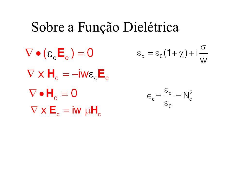 Sobre a Função Dielétrica