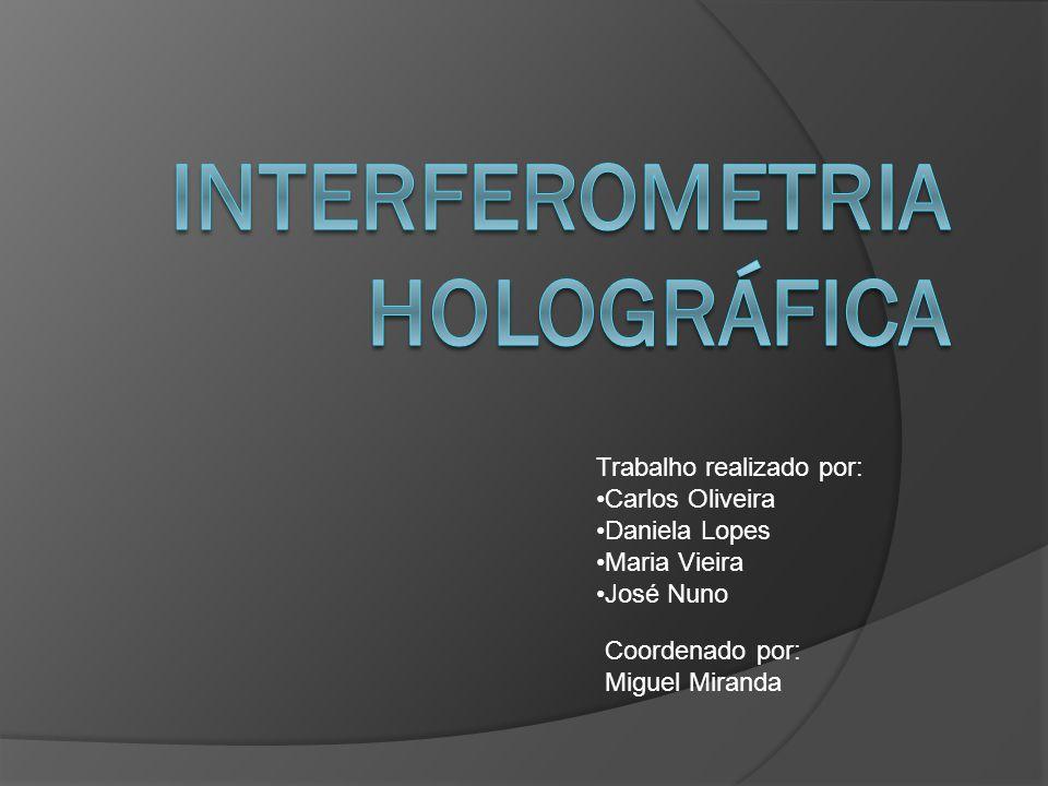 Trabalho realizado por: Carlos Oliveira Daniela Lopes Maria Vieira José Nuno Coordenado por: Miguel Miranda