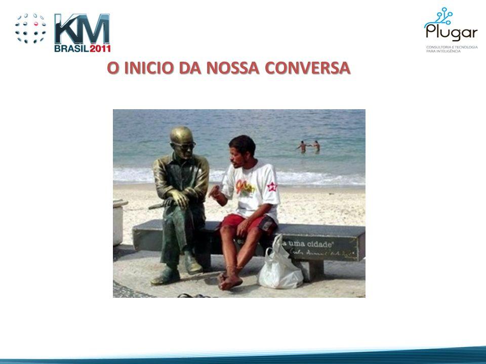O INICIO DA NOSSA CONVERSA