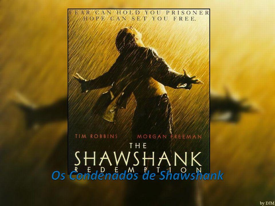 Adaptado da novela de Stephen King Rita Hayworth e The Shawshank Redeption, o filme retrata a história do banqueiro ANDY DUFRENSE, interpretado por TIM ROBBINS, que é injustamente condenado, em 1947, pelo duplo assassinato de sua esposa e do seu amante.
