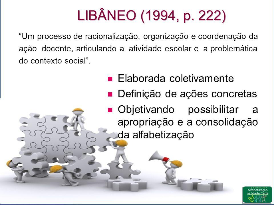 LIBÂNEO (1994, p.