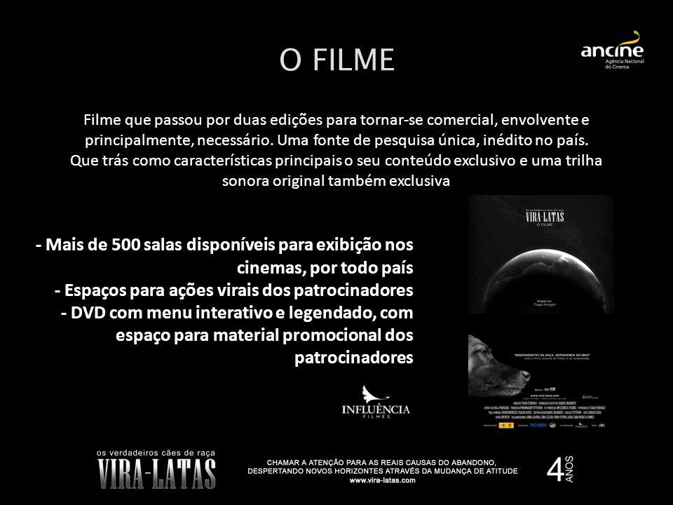 O FILME Filme que passou por duas edições para tornar-se comercial, envolvente e principalmente, necessário. Uma fonte de pesquisa única, inédito no p