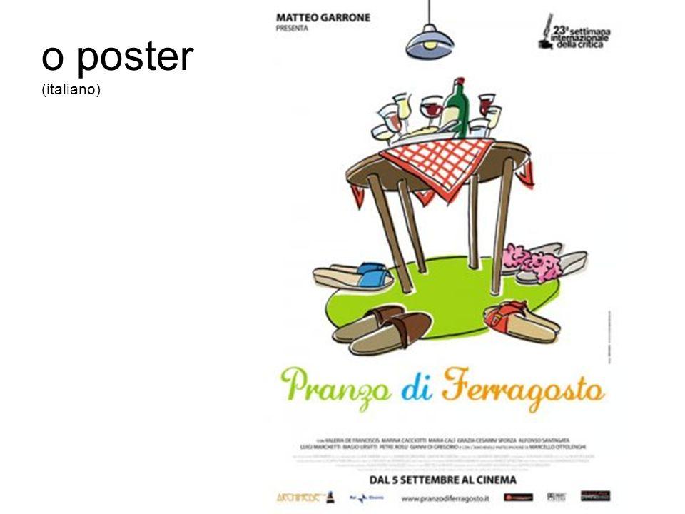 o poster (italiano)