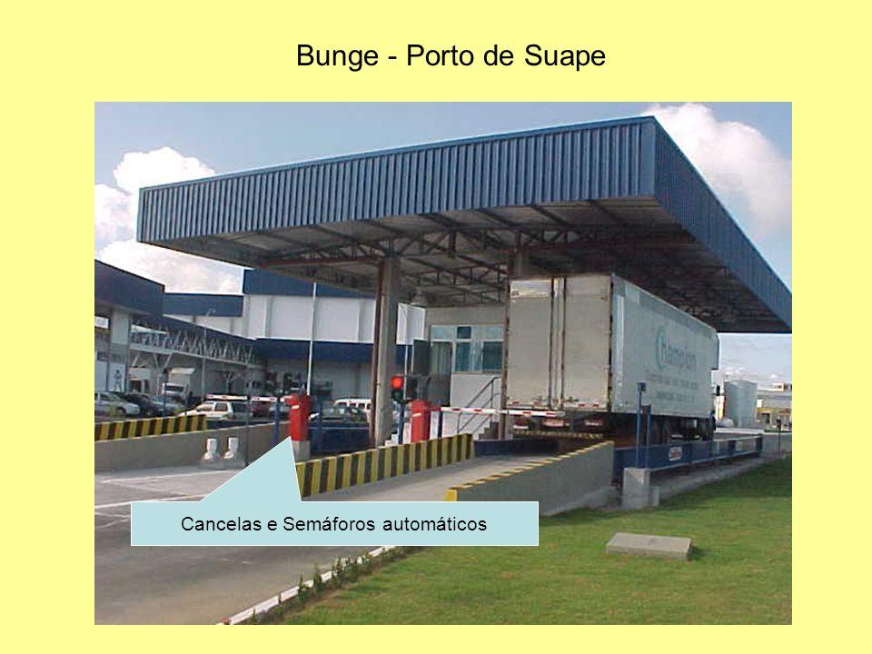 Bunge - Porto de Suape Cancelas e Semáforos automáticos
