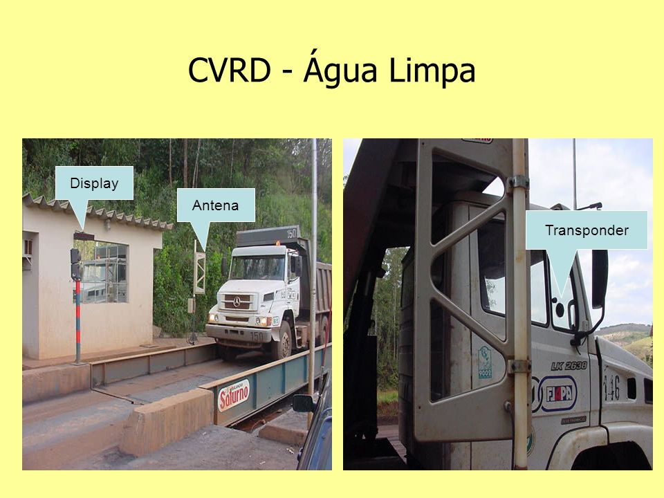 CVRD - Água Limpa Antena Transponder Display