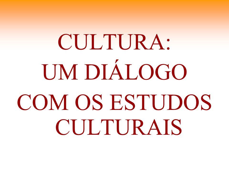 CULTURA: UM DIÁLOGO COM OS ESTUDOS CULTURAIS