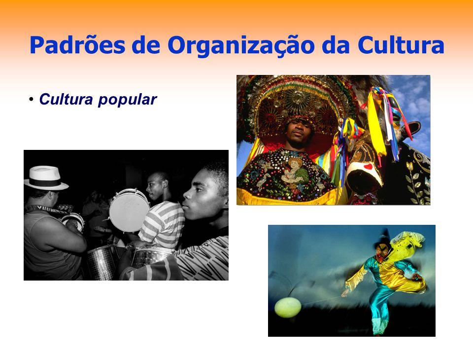 Padrões de Organização da Cultura Cultura popular