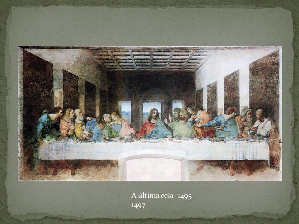A última ceia -1495- 1497